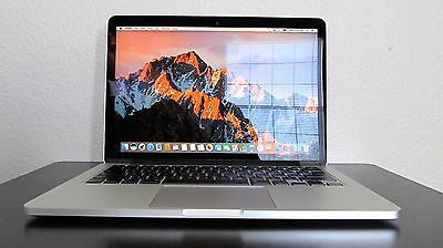 LOADED Early 2015 Retina Apple Macbook Pro 13  i5/ 8GB /256GB SSD Final Cut, CS6