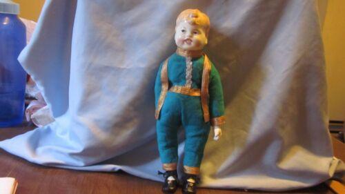 "Vintage Antique China Head Boy Doll 11"""