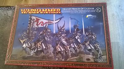 WARHAMMER HIGH ELVES DRAGON PRINCES OF CALEDOR 28MM MINIATURES NEW & SEALED