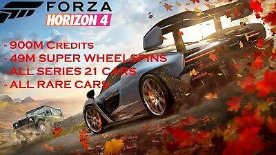 FORZA HORIZON 4 MODDED ACCOUNT - SERIES 21 - 900M CREDITS - XBOX/PC