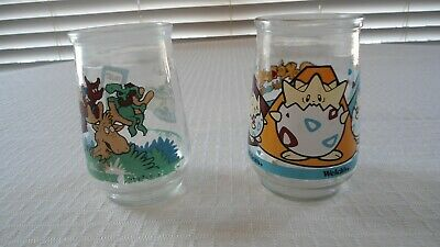 Welch's POKEMON #09 Togepi & Dr. Seuss Thidwick  Collectible Jars Jelly Jam  - Pokemon Jelly Jars