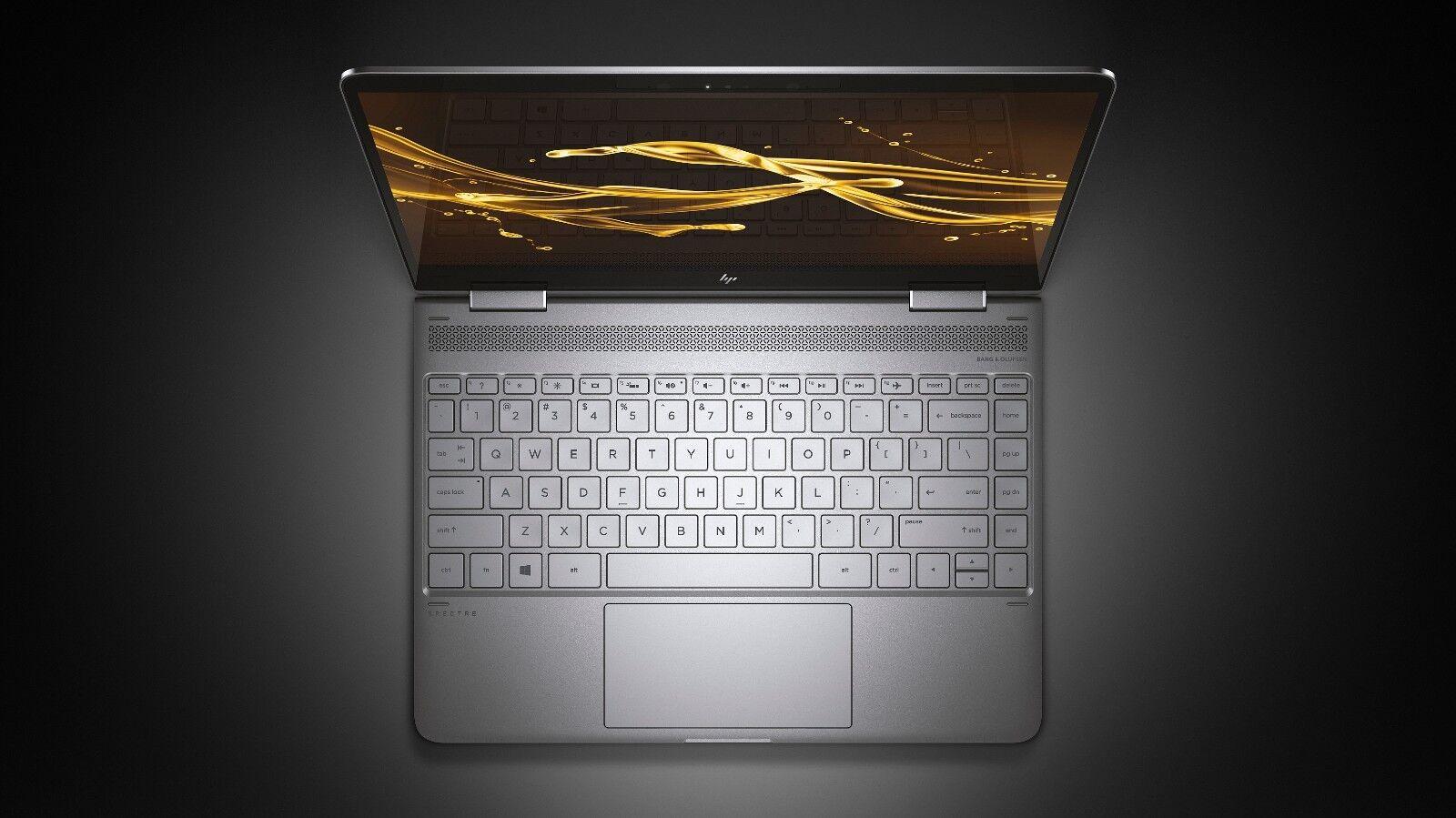 "HP x360 Spectre Touch 13t-w000 Convertible 13 13.3"" i5-7200U 8G 512GB NVMe 0.54"""