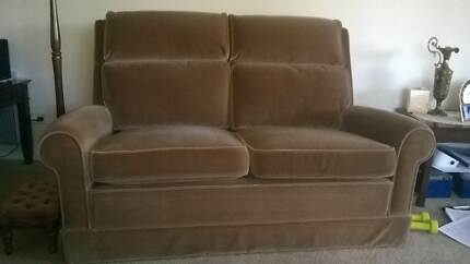 Sofa and Rocker/reclining chair