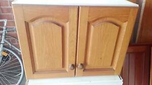 Kitchen cupboard wall mount Solid American oak doors Wollongong Wollongong Area Preview