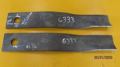 Rotary Cutter Blade Set Brush Mower Blades New Old Stock 6333