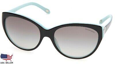 TIFFANY & Co. TF4065-B 8055/3C BLACK BLUE /GREY LENS SUNGLASSES (DISPLAY (4065 Sunglasses)
