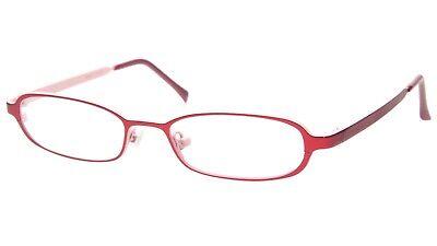 """NEW PRODESIGN DENMARK 1213 c.4021 RED EYEGLASSES 47-16-125 B22mm Japan """"Read"""""""