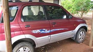 1998 Daihatsu Terios Wagon The Cape Charters Towers Area Preview
