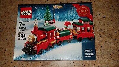 LEGO 40138 Limited Edition 2015 Christmas Train NEW Slightly damaged box