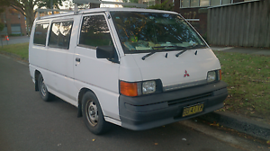 Mitsubishi express 2.0 van, long rego till 24/06/2018 Chatswood Willoughby Area Preview