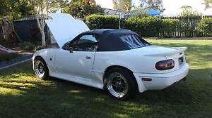 1989 Mazda MX-5 NA6 Convertible White Urangan Fraser Coast Preview
