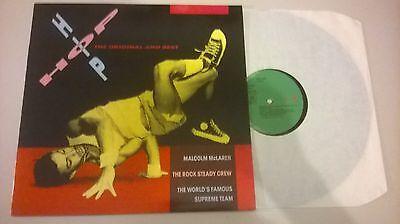 LP VA Hip Hop - The Original And Best (6 Song) CHARISMA / VIRGIN
