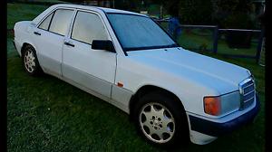 $600  Mercedes 180e 1992 model auto, nearly a months rego, Bar Beach Newcastle Area Preview