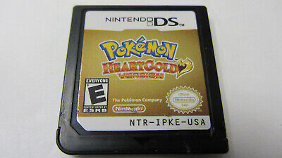 Pokemon Heart Gold Nintendo DS authentic HeartGold