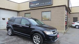 2011 Dodge Journey R/T 7 Passenger, AWD, White Leather Int.