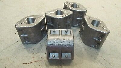 5 New Sherman Reilly Dc-10 Duct Coupler 1.40 F3