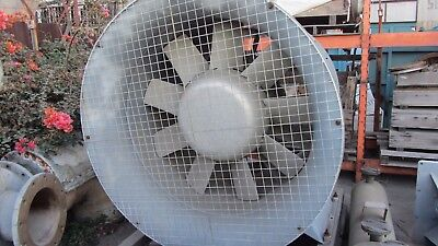 Buffalo Forge Vaneaxial Fan 54d9 Adjustax 90000cfm5.44press 1750rpm 96.5bhp