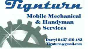 Tignturn Mobile Mechanical & Handyman Services Cooloongup Rockingham Area Preview