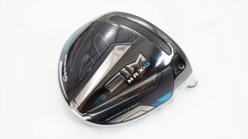 TaylorMade SIM Max D 12.0* Degree Driver Club Head Only VGOOD COND. - SEE NOTE