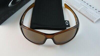 Oakley Hijinx Dark Amber Tungsten Iridium+Original Box OO9021-02 NEW RARE for sale  Shipping to India