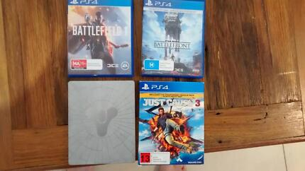 Playstation 4 games as see below trade/swap/sell Concord Canada Bay Area Preview