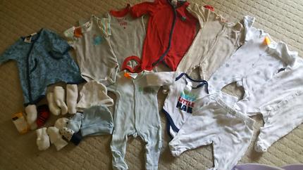 Baby boy size 00000/premmie winter bundle