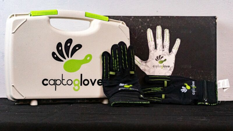 CaptoGlove Pair Left and Right -Size L- Virtual Reality
