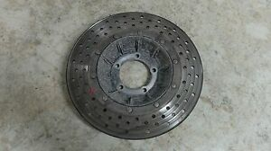 81 BMW R100RT R 100 RT Airhead Rear Back Brake Rotor grooved