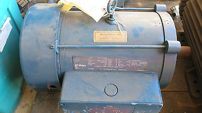 Ge 10 Hp 3 Phase Electric Motor - Used