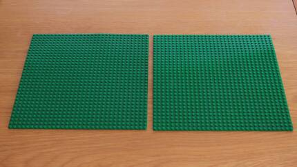 Lego Base Plates 32 x 32 Green TWO Included