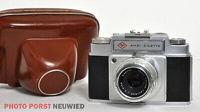 Agfa Ambi Silette * hochwertige Kleinbildkamera mit Wechselobjektivsystem
