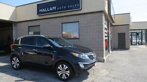 2012 Kia Sportage EX All Wheel Drive, Heated Seats, Bluetooth