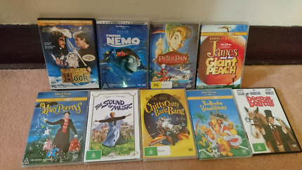Kids classic DVDs (pick-up only)