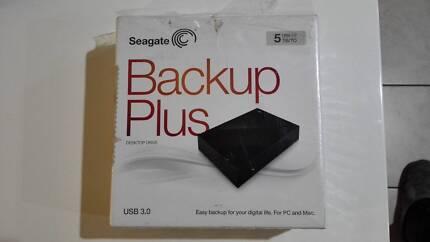 Seagate Backup Plus 5TB hard disk drive