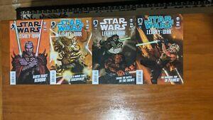 Star Wars Legacy: War Comic Lot