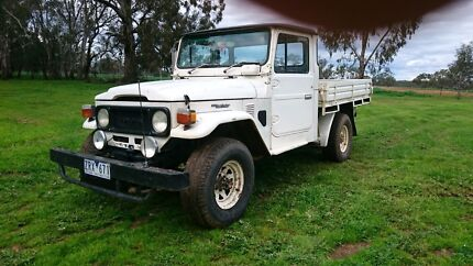 1983 Toyota fj 45, power steering and disc brakes. 4.2 petrol Numurkah Moira Area Preview