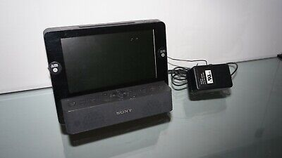 Sony Dream Machine 7 LCD Screen AM/FM Clock Radio iPod Dock ICF-CL75iP *Tested*