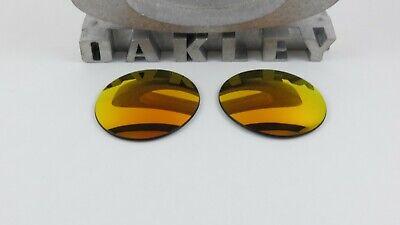 Oakley Madman Ruby Iridium Replacement Lenses Custom OEM+T6 NEW RARE