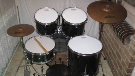 5 pce Mapex Venus Series Drum Kit w/Zildjian ZXT Cymbals -GC- Coburg Moreland Area Preview