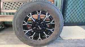 4 x advanti racing rims and tyres 225/75r16 off 2012 hilux Murwillumbah Tweed Heads Area Preview