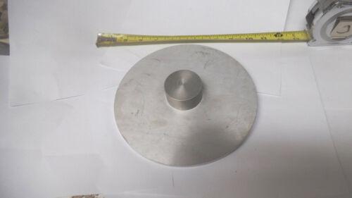 "200mm or 7-7/8"" diameter Aluminum disc, .260 thick, machined"