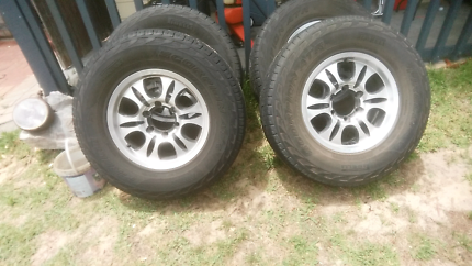 Mags & tyres 4x4