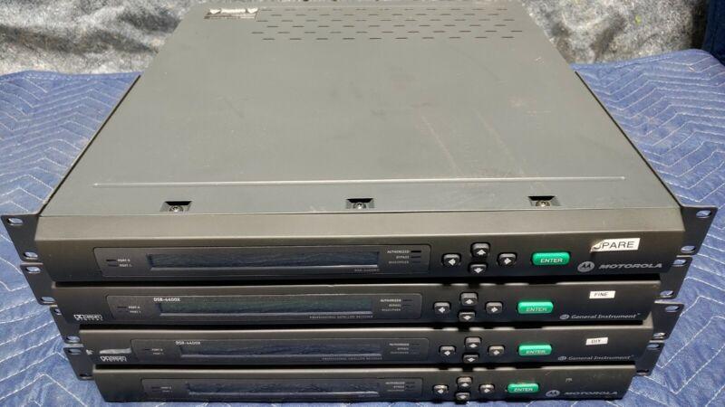 LOT OF 4 Motorola/ General Instrument - DSR-4400MD - DSR4400X
