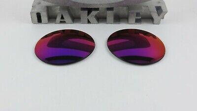 Oakley Madman Positive Red Iridium Replacement Lenses Custom OEM+T6 NEW RARE