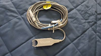 Nellcor Preamp Cable For N-200 Series Pulse Oximeters Used