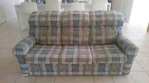 3 Seater Sofa Bed Cashmere Pine Rivers Area Preview