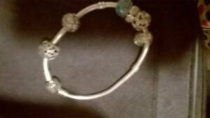 Pandora Bracelet With Charms Biggera Waters Gold Coast City Preview