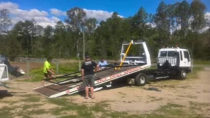 Tow Truck Tilt & Slide