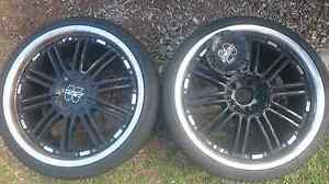Two, 20 inch rims,, suit trailer  or  spares Labrador Gold Coast City Preview