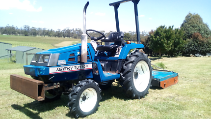 Iseki Compact Tractor and implements